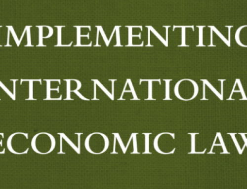 Dispute Settlement in International Investment Law